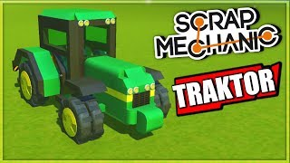 WIELKI TEST TRAKTORÓW W SCRAP MECHANIC