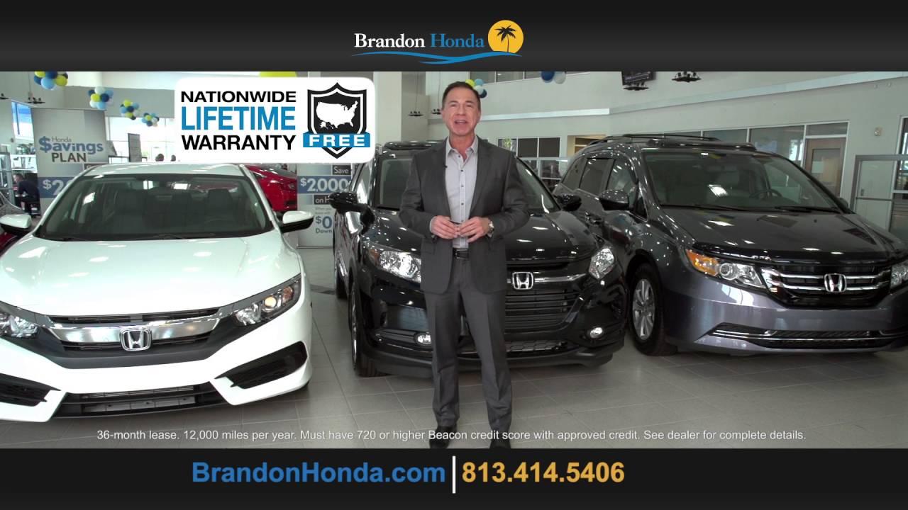 Nice Brandon Honda Sign And Drive (073 0516)