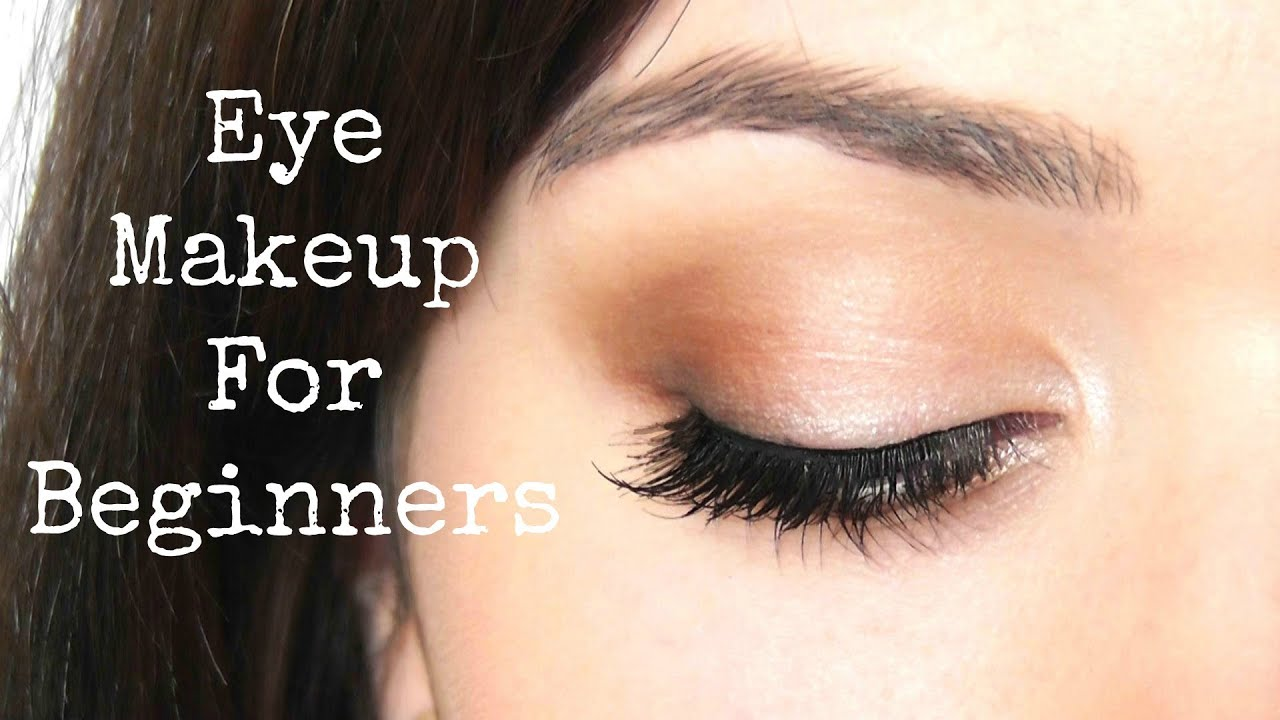 beginner eye makeup tips