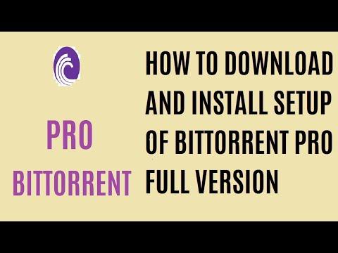bittorrent pro latest version free download