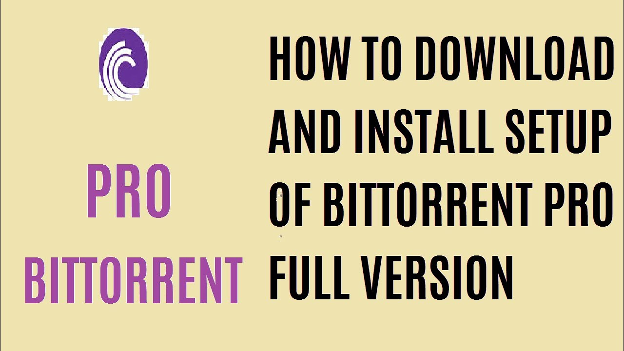 bittorrent pro download for pc free