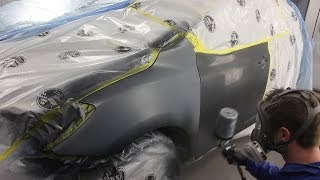 Car Painting - Toyota Grey Metallic Blend