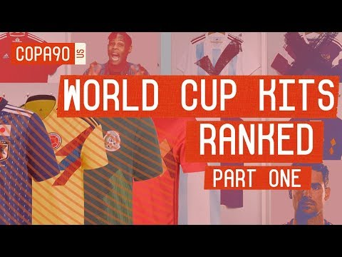 World Cup Kits Ranked: Will Your Country Make It Out of the Group?  Part 1