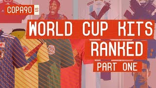 World Cup Kits Ranked: Will Your Country Make It Out of the Group? | Part 1