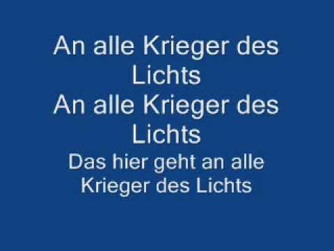 Silbermond - Krieger Des Lichts Lyrics