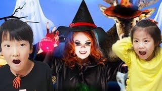 초인종을 누르고 문을 들어가면?!! 서은이의 할로윈 축제 주렁주렁 테마파크 동물원 마녀 Theme Zoo having Halloween Festival