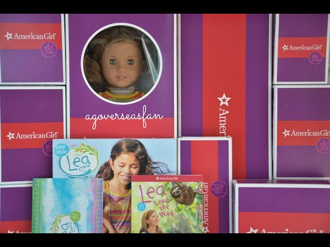 American Girl Doll Lea Clark Whole World Collection
