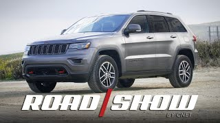 Rugged Jeep Grand Cherokee Trailhawk loaded with smart tech