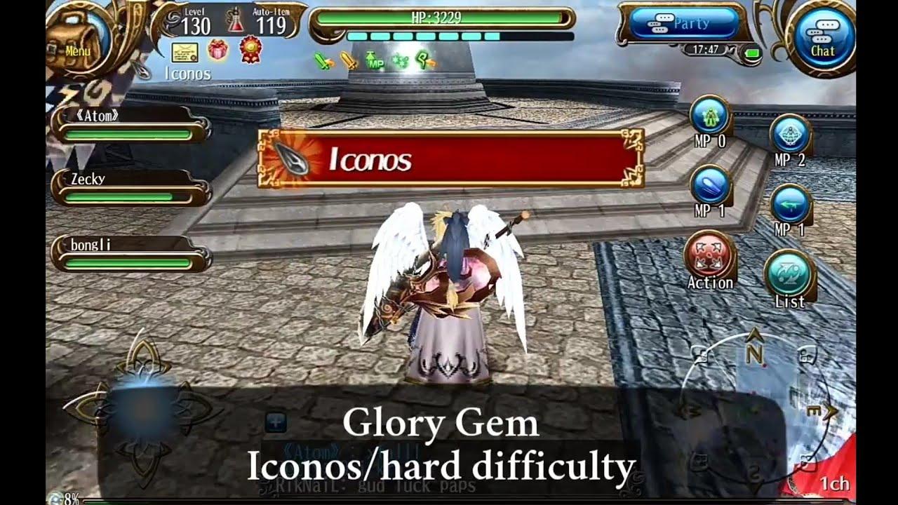 Toram Online: Some tips to get xtal easier at gem run [SRD/LEG/GLORY GEM]