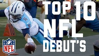 Top 10 Debut Performances | NFL Highlights