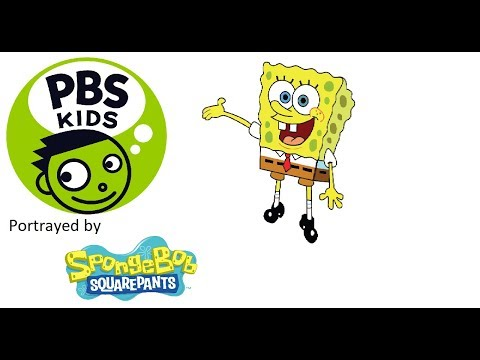 childhood memories : PBS Kids Shows Portrayed By Spongebob