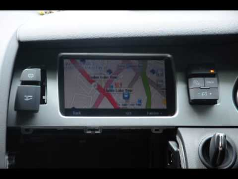 audi q7 installed with papago gps navigation on original. Black Bedroom Furniture Sets. Home Design Ideas