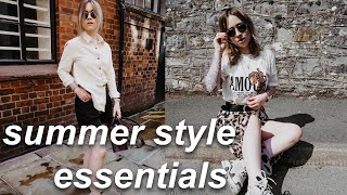 MY SUMMER STYLE ESSENTIALS | Lucy Love
