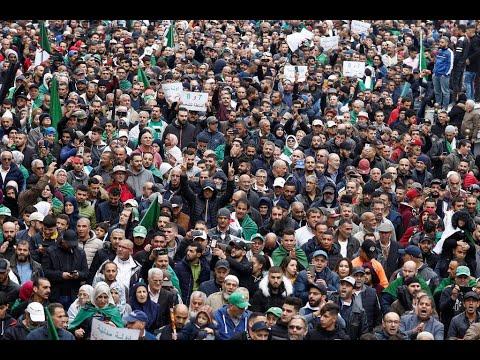 انطلاق الجمعة 38 من الحراك الشعبي في الجزائر  - 15:55-2019 / 11 / 8