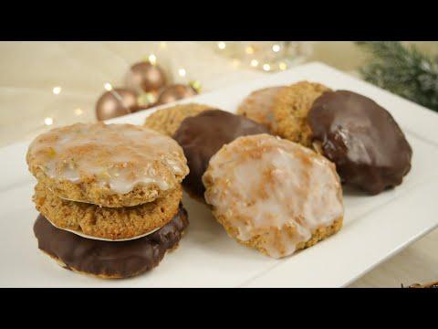 Elisenlebkuchen Rezept | Glutenfreie Lebkuchen ohne Hirschhornsalz