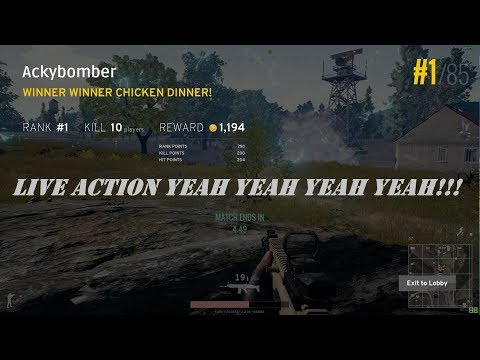 PLAYER UNKNOWNS BATTLEGROUNDS - SQAUDS WITH OUR YANK MATE HYFRO