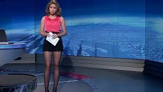 Emma Smetana Beautiful Czech Tv Presenter 07.11.2012