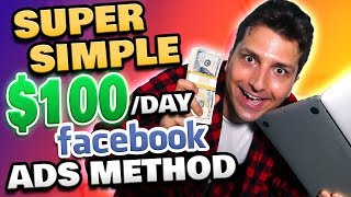 Deadly Simple: Make $100-$200 a Day Online ($20 Facebook Ads)