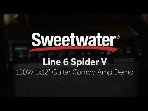 Line 6 Spider V 120 Modeling Combo Amp Demo