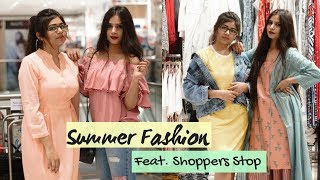 LookBook: Summer Fashion Ft. Shoppers Stop | Outfits Ideas | Collab with StyleUpChic | Shweta Verma