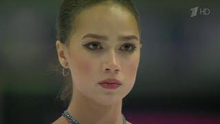 Alina Zagitova at TV became a Major Star of Russian Sport