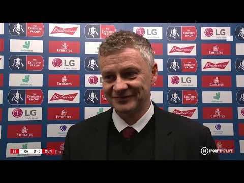 Solskjaer: We played the way football should be played | Post-Match Interview