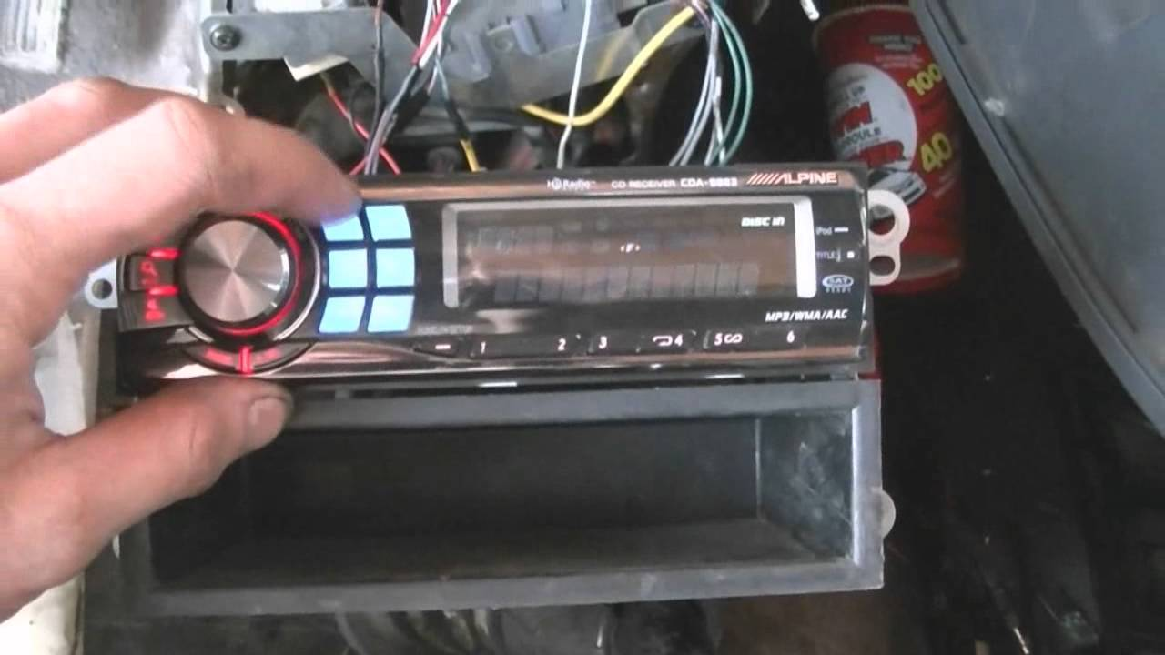 Stereo Install! (bring on the bass) (042212)  YouTube