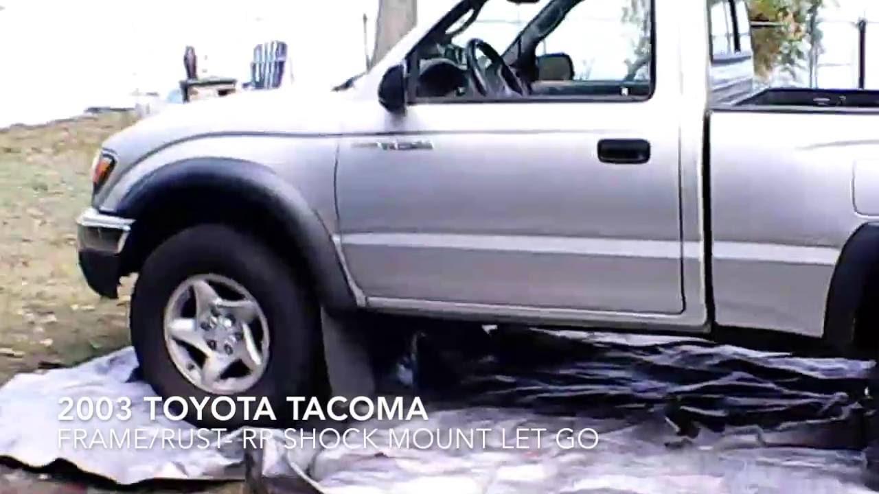 2003 Tacoma Frame Rust - YouTube