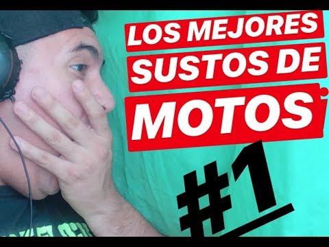 LOS MEJORES SUSTOS EN MOTO #1    QUE CAGAZO!!!