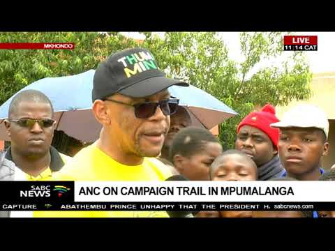 UPDATE: ANC on a campaign trail in Mpumalanga