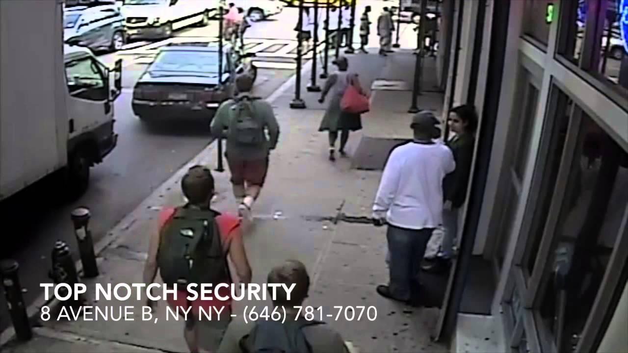 Top Notch Security Technician Catches East Village Purse ...