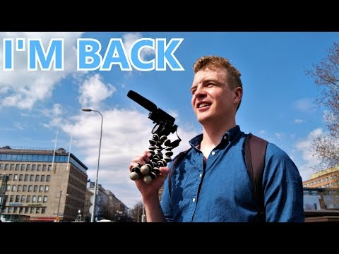 First My Day Vlog in Tampere, Finland with Go Pro Hero Black 5