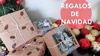 DIY: Regalos de Navidad + Cómo Envolverlos♥ | Fer Estrada