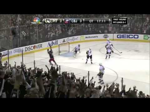NHL Playoff Overtime Goals [2014 First Round]