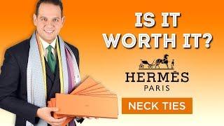 Video Hermes Ties - Is It Worth It? Or Is A $180 Hermès Tie Too Expensive? download MP3, 3GP, MP4, WEBM, AVI, FLV November 2018