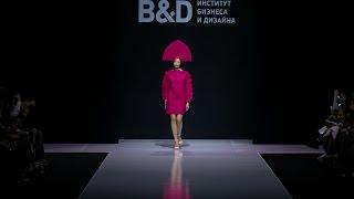 Неделя моды в Москве 2017 Показ студентов B D
