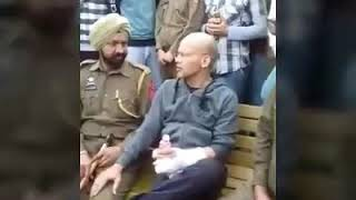 I.Gp traffic police basant rath sir face to face in jammu public