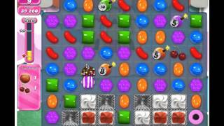 Candy Crush Saga Level 278 - 3 Stars No Boosters