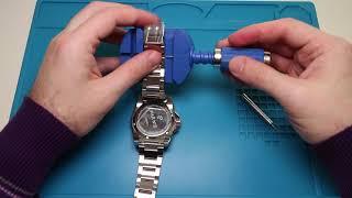 Как укоротить стальной литой браслет? Как убрать звено в стальном браслете своими руками?