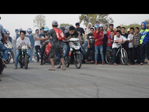 Drag liar Mio Poligami Mongs racing Vs Jupiter MX