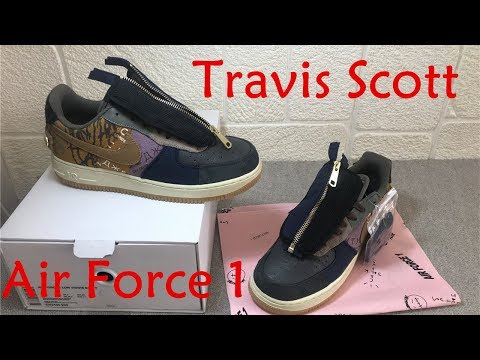 Travis Scott X Nike Air Force 1 Low /TS AF1 CN2405900/ 2019 FW Exclusive Sneakers Review