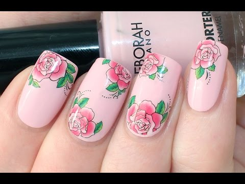 How To Apply Water Decals Youtube