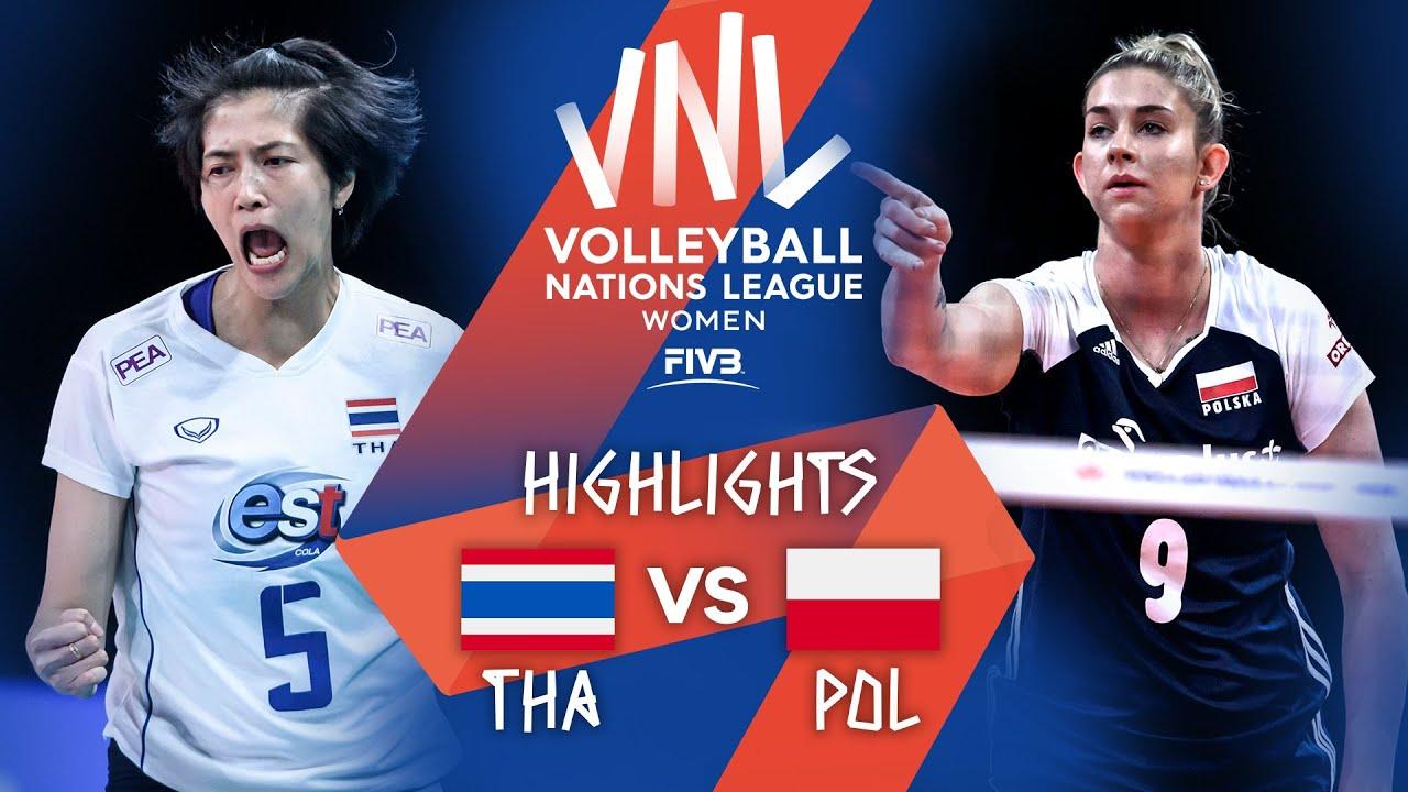 Download THA vs. POL - Highlights Week 4 | Women's VNL 2021