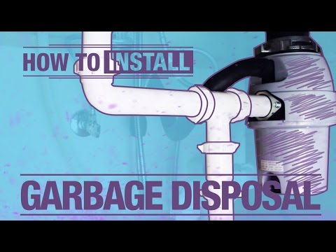 How To Install: A Garbage Disposal