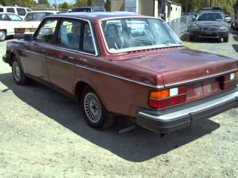 1982 Volvo 240 4dr Sedan (Pacific, Washington) - YouTube