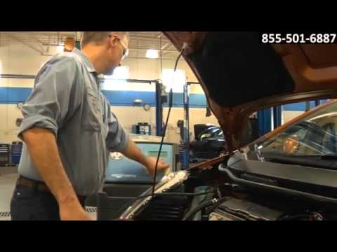 Nissan Auto HVAC Air Conditioning Service AC Leak Repair