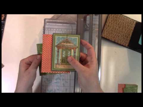 Ephemera Card Mini Album Video Tutorial