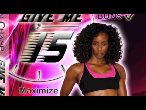 Madison Chase Fitness DVD Get Your GIVE ME 15 DVD