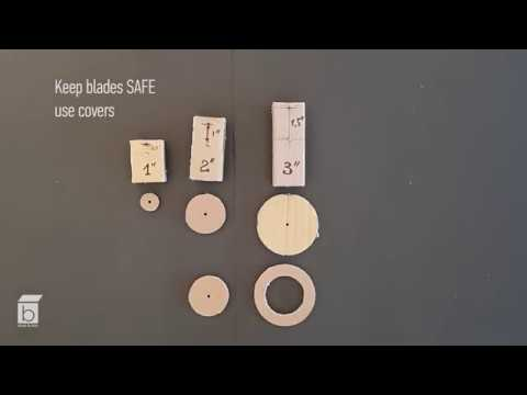 How to cut circles in cardboard