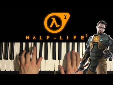 How To Play - Half-Life 2 - Triage At Dawn (PIANO TUTORIAL LESSON)